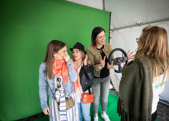 Green screen photobooth Meerskat