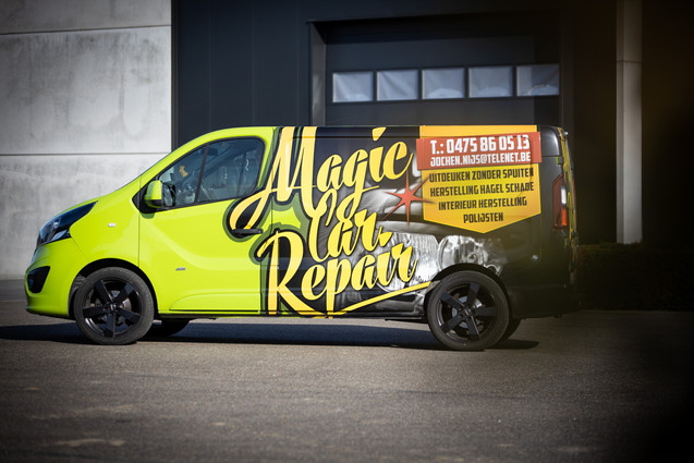 Magic Car Repair in Lanaken