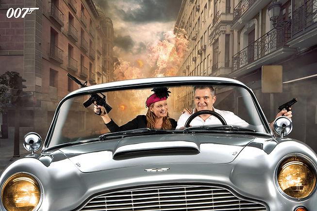 Photobooth Limburg - James Bond