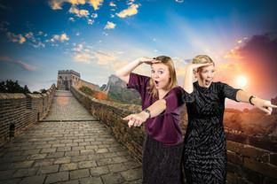 photobooth chinese muur china