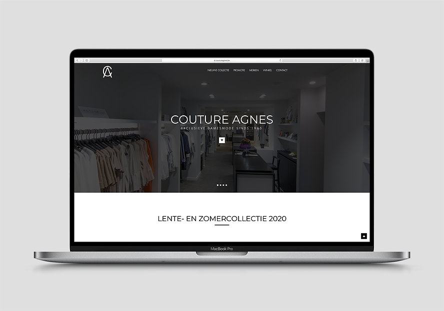 Webdesign Couture Agnes