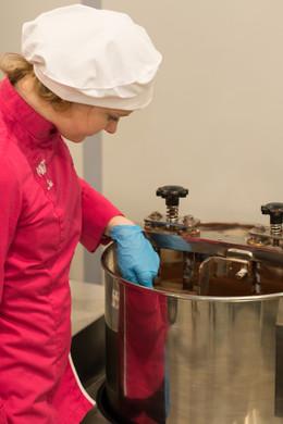 Helga van Magic Chocolates in Wetteren