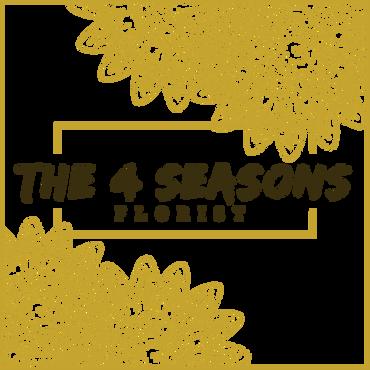 Logo The 4 Seasons - Wit (transparant)