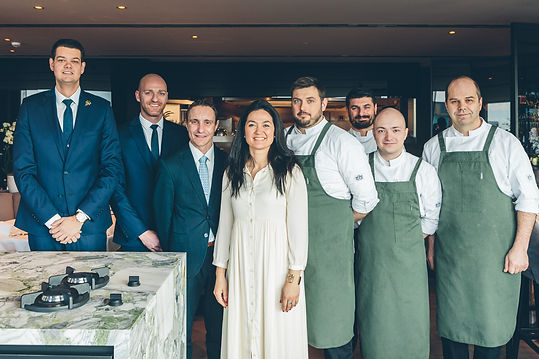 Team van restaurant Resto Marina in Oostende
