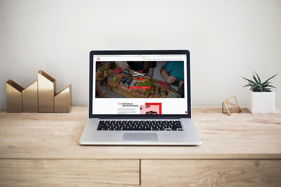 Webdesign Esaki Sushi