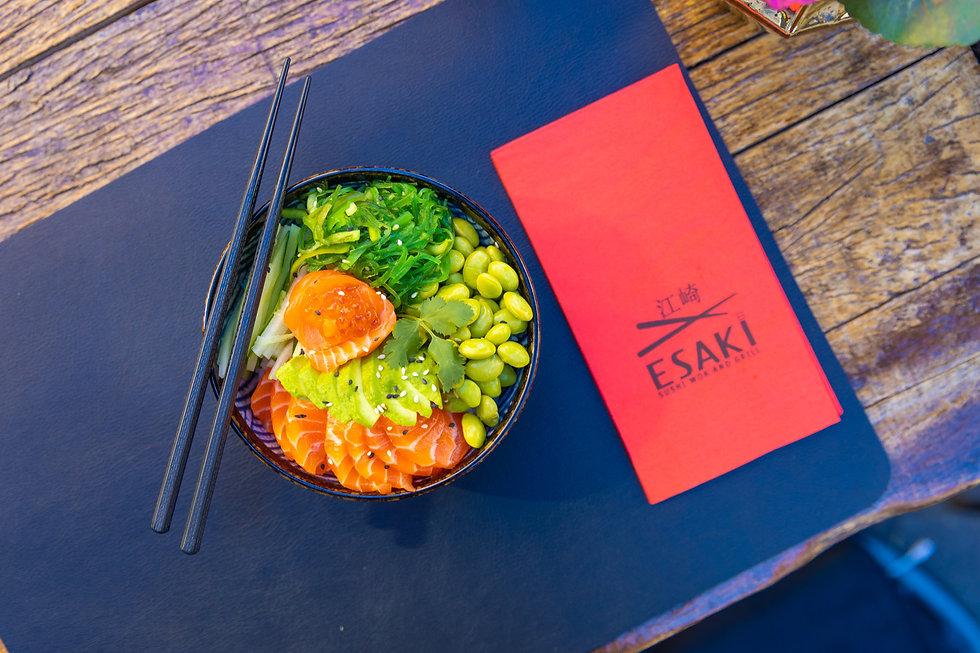 Poké Bowl van Esaki Sushi