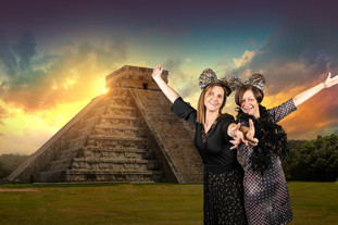 photobooth chichen itza mexico