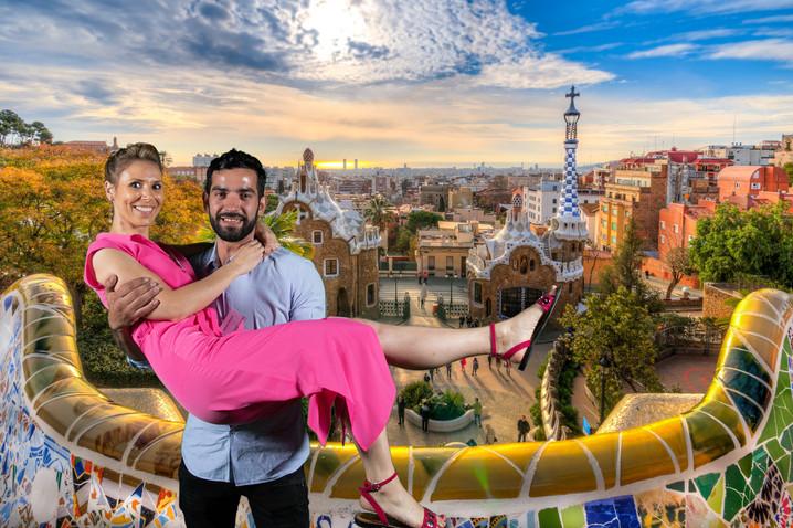photobooth barcelona park guell
