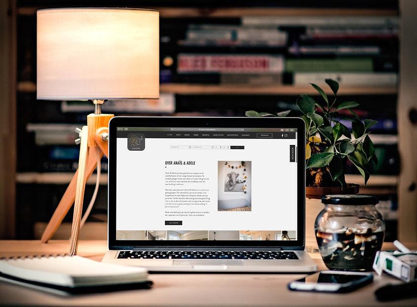 Webdesign Maison Anaïs & Adele