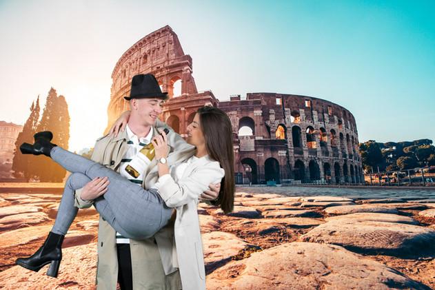 photobooth colosseum rome