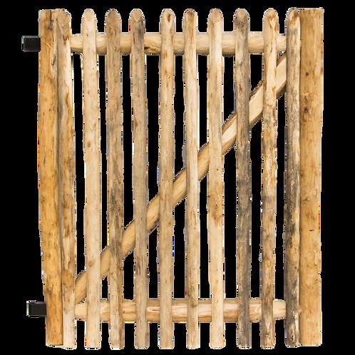 Tuinpoortje kastanjehout