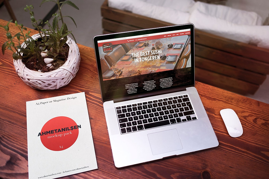 Webdesign Esaki Sushi Tongeren