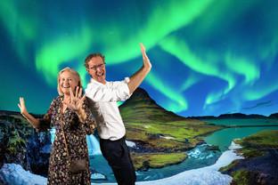 photobooth noorderlicht ijsland