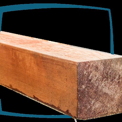 Vierkantpaal hardhout