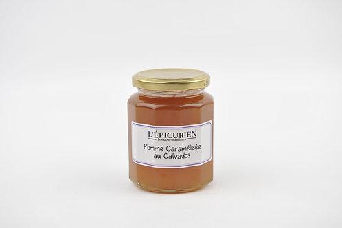 Pomme caramélisée au Calvados