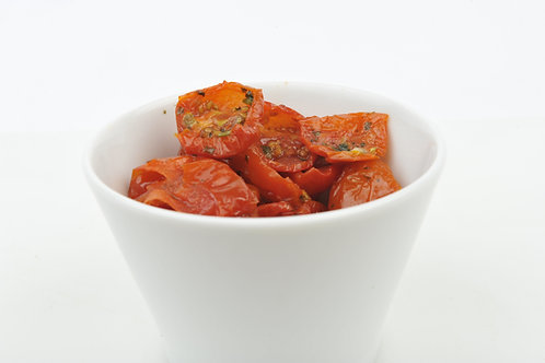 Zongedroogde  Gepelde tomaten