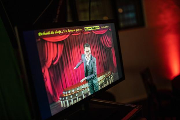 Foto van green screen photobooth