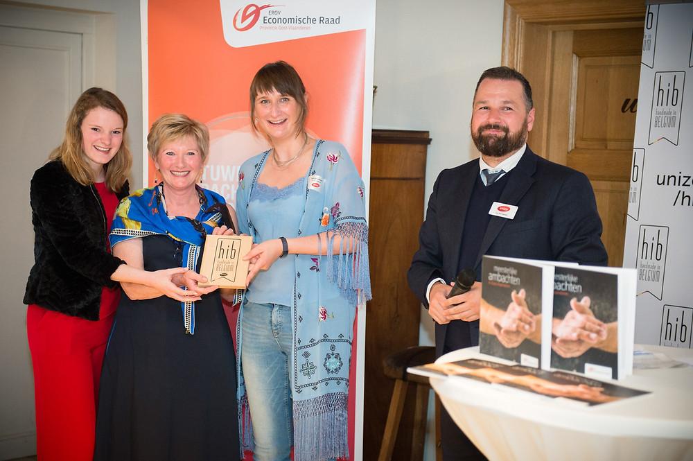 Magic, de pure Belgische chocolade met liefde gemaakt door het familiebedrijf The Belgian Chocolate Factory kreeg op woensdag 22 mei het Handmade In Belgium-label van ondernemersvereniging UNIZO.