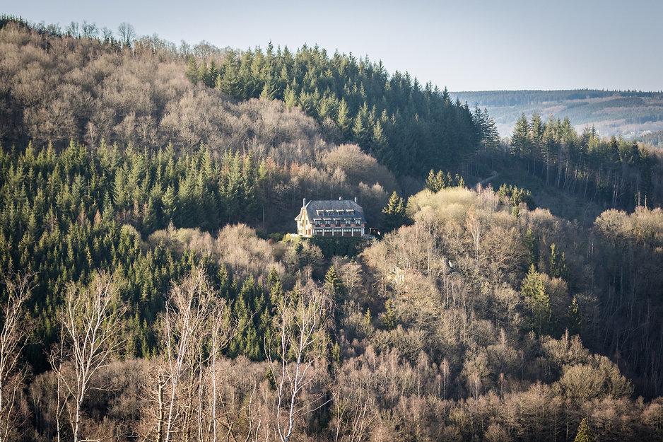 Hostellerie Beau Site in het bos in Trois-Ponts