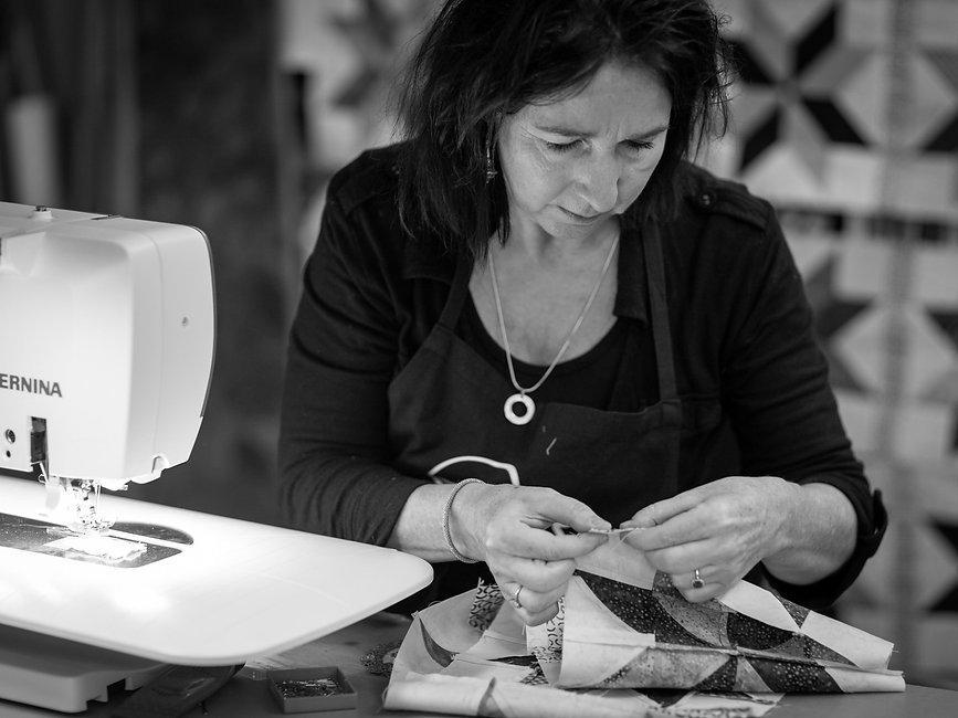 Caroline Klinckhamers van Quilts in Heers