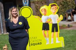 Sophie Naze van Staycation Squad
