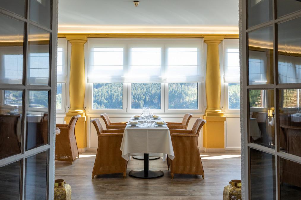 Restaurant in Hostellerie Beau Site op het hoogste punt van Trois-Ponts