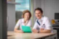 Dokter Leonie Geukens en Dokter Rens Busschots van Dokterspraktijk Busschots-Geukens