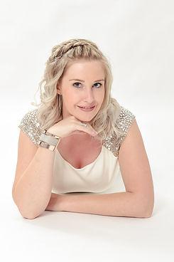 Zangeres Ine van de Vlaamse meidengroep Top Pops