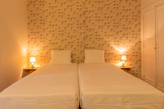 Romantische kamer voor twee personen bij Hostellerie Beau Site in Trois-Ponts