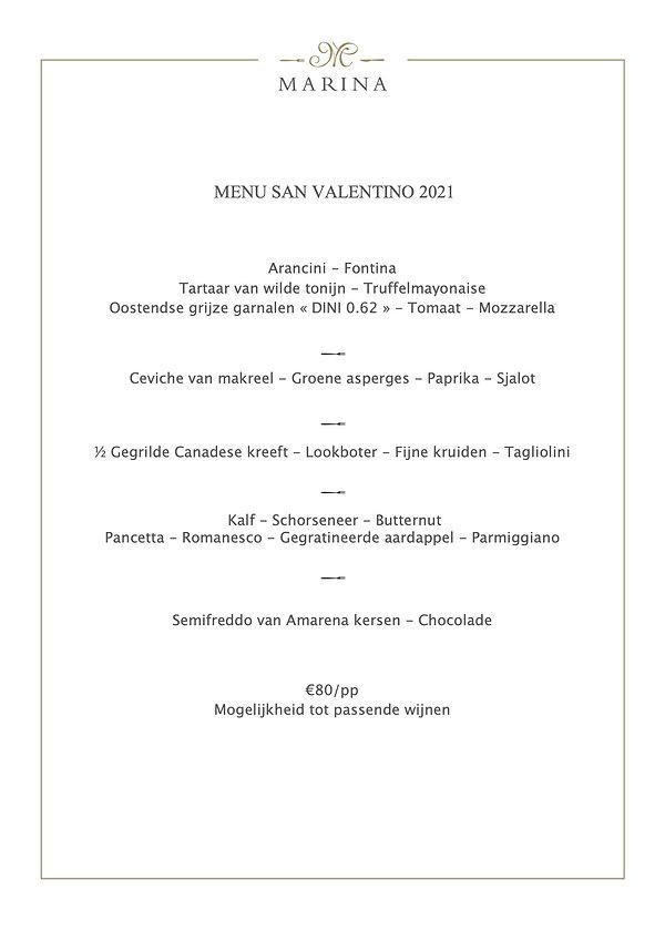 Valentijn - Resto Marina
