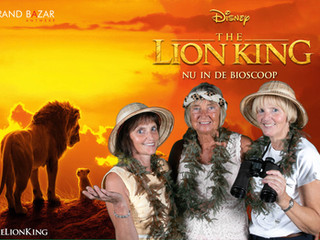 THE LION KING GRAND BAZAR ANTWERP