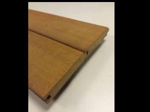 Opbouwscherm hardhout 14 planken