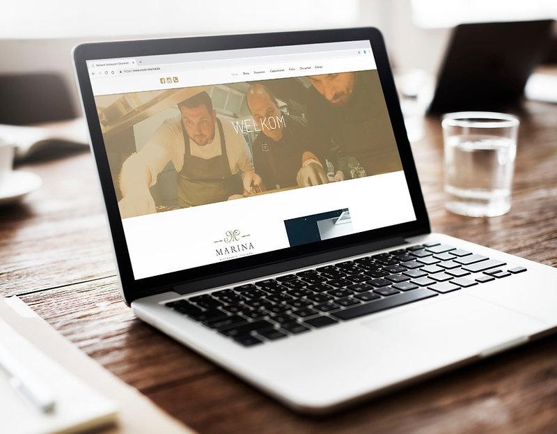 Webdesign Resto Marina