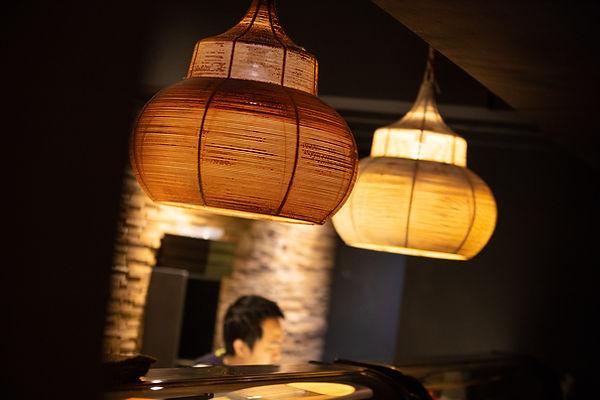 Sfeerbeelde van het sushirestaurant Esaki Sushi in Hasselt