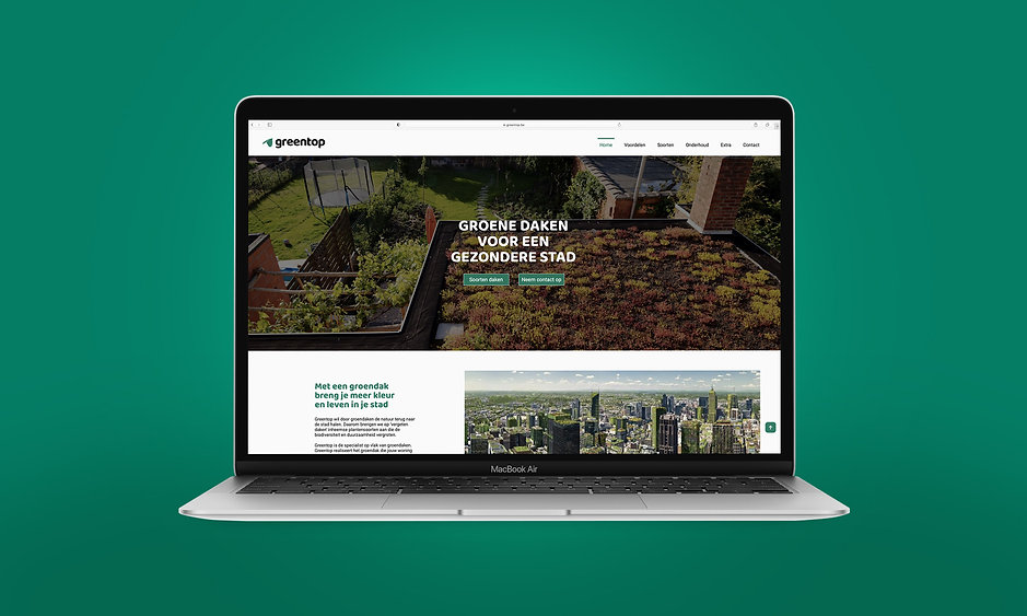 Webdesign Greentop