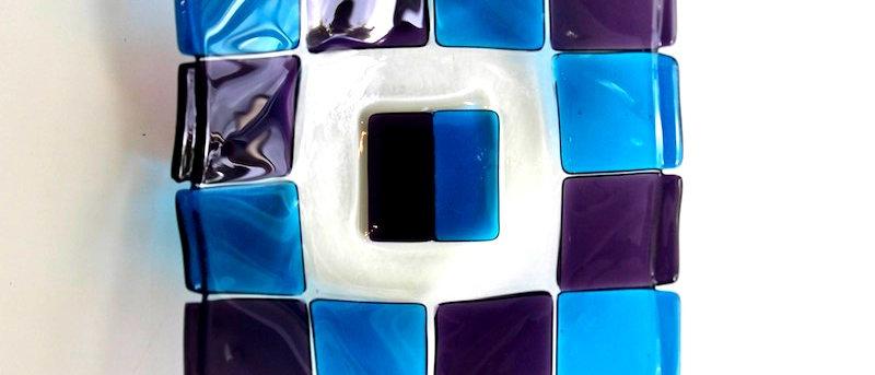 Schaaltje paars-blauw