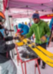 Lake Tahoe Backcountry Demo Event 2016, photo by Josh Hejl