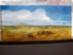 Prairie Painted Window