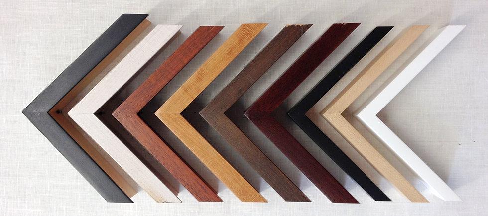 Custom Frame Corner Samples