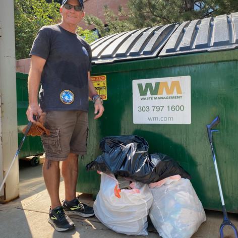 Trash Pick Up Day Success