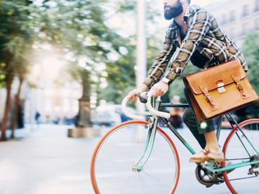 De bicicleta na Suíça