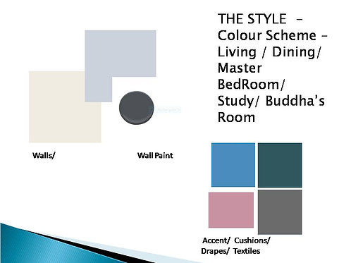 Colour & Finishes Selection