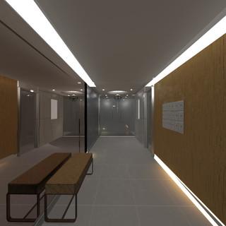 Contemporary Lobby