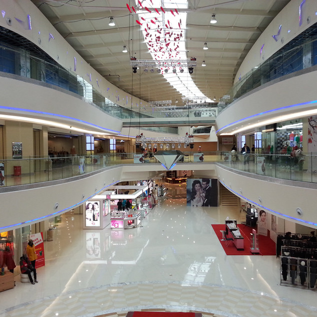 Red Mall Interior