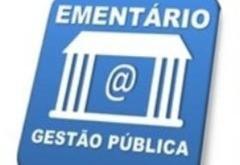 Ementário publica últimas atualizações normativas e julgados da área pública