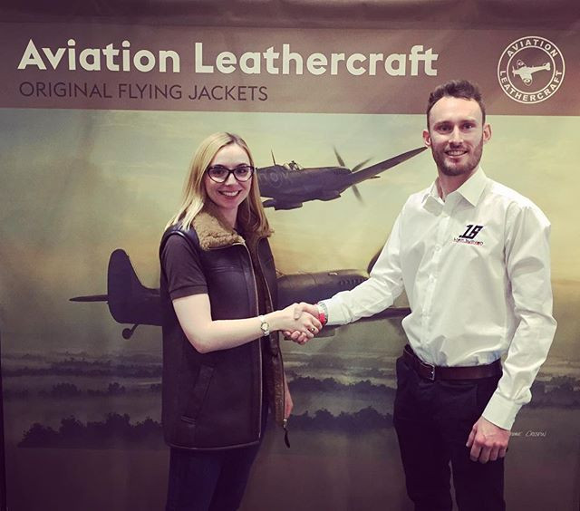 Sullivan partners with Aviation Leathercraft for 2018
