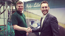 Moto-Lita sponsors Liam Sullivan