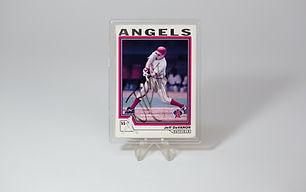 Baseball Card Capsule