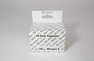 Silver Dollar Coin Capsules