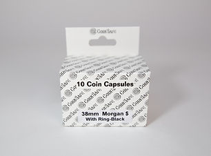 Morgan Dollar Coin Capsules
